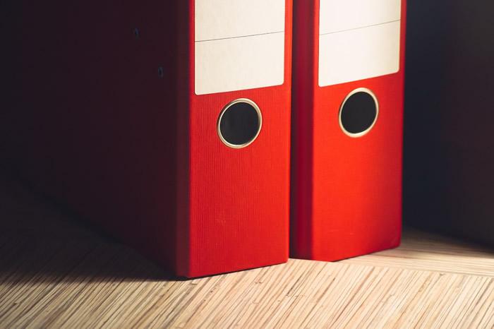 Organiza tus documentos con archivadores